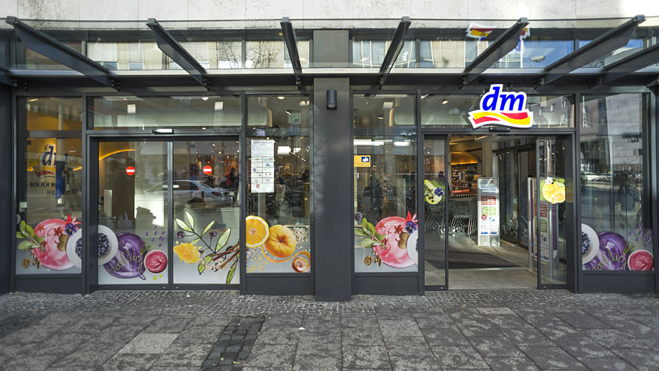 bildergalerie dm drogeriemarkt in frankfurt. Black Bedroom Furniture Sets. Home Design Ideas