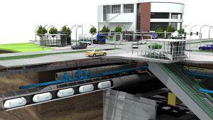 Schadstoffbelastung und verstopfte Straßen zwingen Kommunen und Logistiker zum Handeln. Die Bochumer Cargo Cap GmbH hat eine umweltfreundliche und automatisierte Lösung parat. In unterirdischen Rohrleitungen sollen bepackte Euro-Paletten in Innenstädten zu ihrem Bestimmungsort transportiert werden.