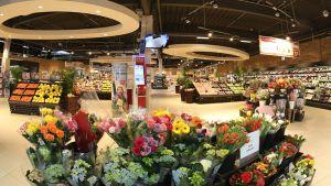 Seit Anfang November 2016 ist das neue Rewe-Center im Lilienthal-Center in Mannheim-Sandhofen am Netz. Mit einer Fläche von 4.600 qm ist der Markt einer der größeren seiner Art. Früher war an dem Standort ein Real-Markt, acht Monate dauerte die Umbauzeit.