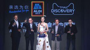 Aldi Süd hat seinen Webshop in China mit großem Brimborium offiziell eröffnet.