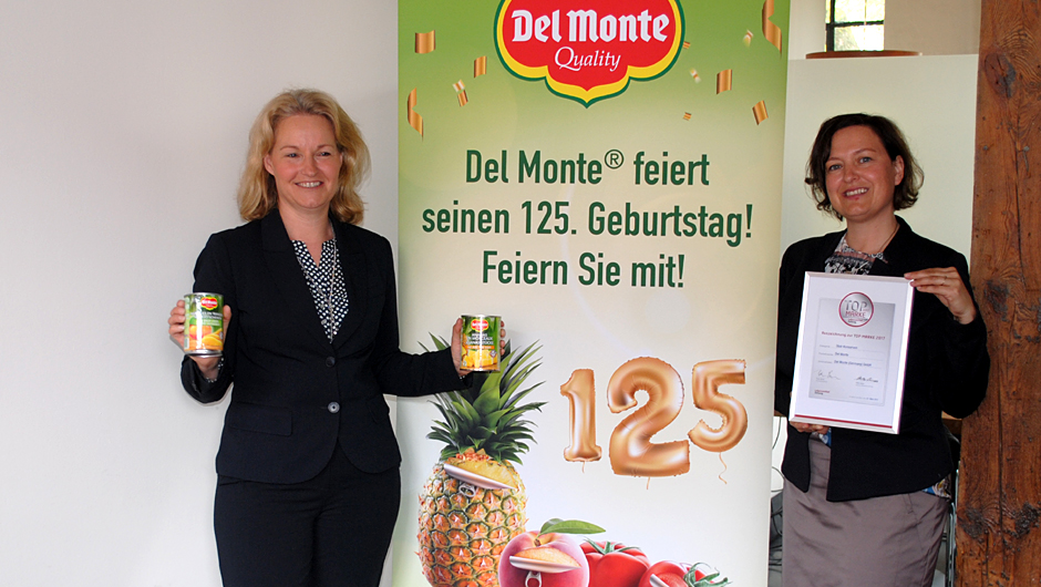 Del Monte GmbH, Germany: Marion Junge, Marketing Managerin (l.), und Iris Frenzel, Marken Management, beide bei der Genuport Trade AG in Norderstedt.