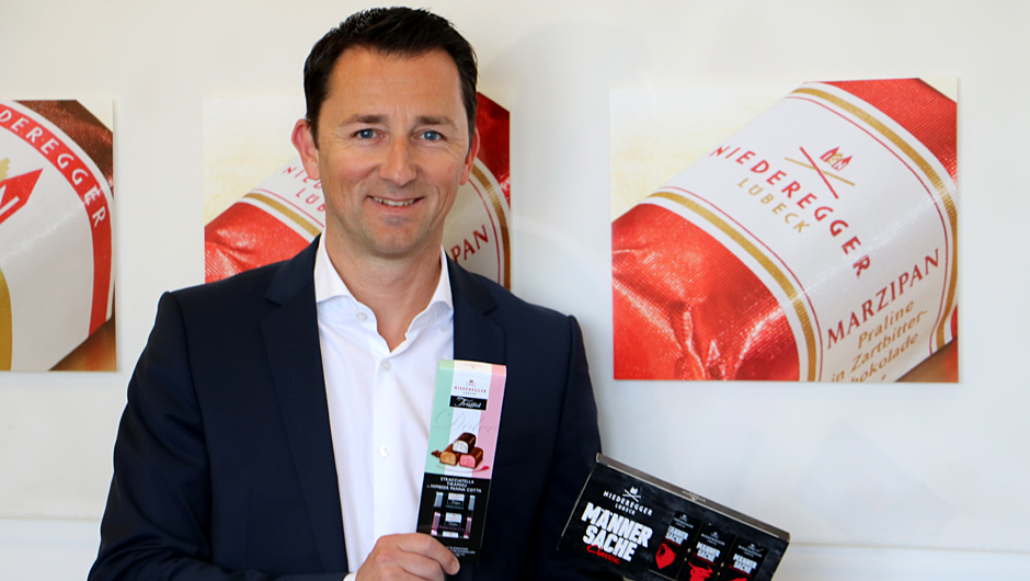 J.G. Niederegger GmbH & Co. KG, Lübeck: Thomas Arndt, Leitung Marketing.
