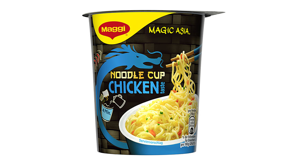 Kategorie Instantbecher: Maggi Magic Asia