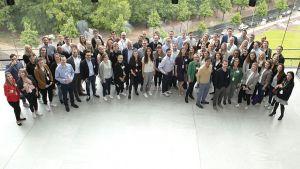 Rund 70 Teilnehmer aus Handel und Industrie nutzen die Chance, das Facebook-Team bei der Young Business Factory in Berlin aus nächster Nähe kennenzulernen.