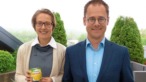 Bonduelle Deutschland GmbH, Reutlingen: Tanja Kühnlein, Senior Marketing Manager Konserve, und Christian Bauer, Marketing Direktor D-A-CH.