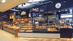 """Mit dem Gastronomie-Konzept """"Himmel und Herd"""" feiert Wasgau im Markt in Annweiler seine konzernweite Premiere. Daneben gibt es auch eine Bäckerei, die auch sonntags geöffnet ist."""