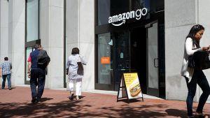 Einkaufen ohne Kassen, Vorsprung durch Technik - Amazon Go ist das revolutionärste Ladenkonzept des Online-Riesen. Im April 2019 eröffnete Amazon innerhalb weniger Monate seinen dritten Go-Store in San Francisco.