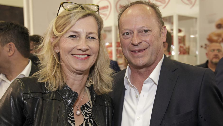 Katrin Westerholt (Intercookies) und und Michael Holtz (Sales in time).