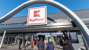Bei der Eröffnung des neuen Kaufland in Mainz herrscht bereits um 7 Uhr großer Andrang.