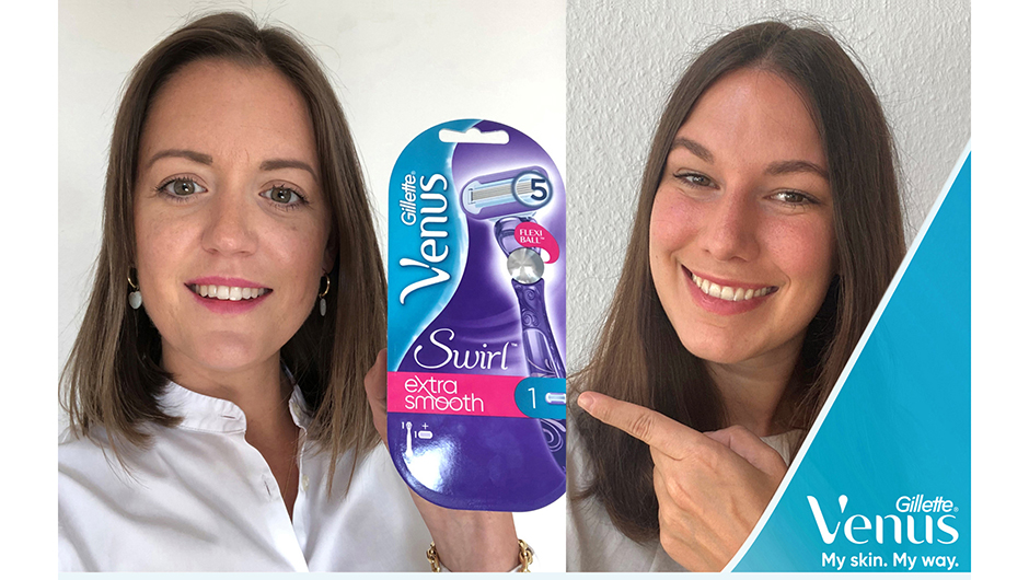 Procter & Gamble GmbH, Schwalbach: Valerie Elsner, Category Management (l.), und Christine Thomas, Brand Management für Gillette Venus D-A-CH.