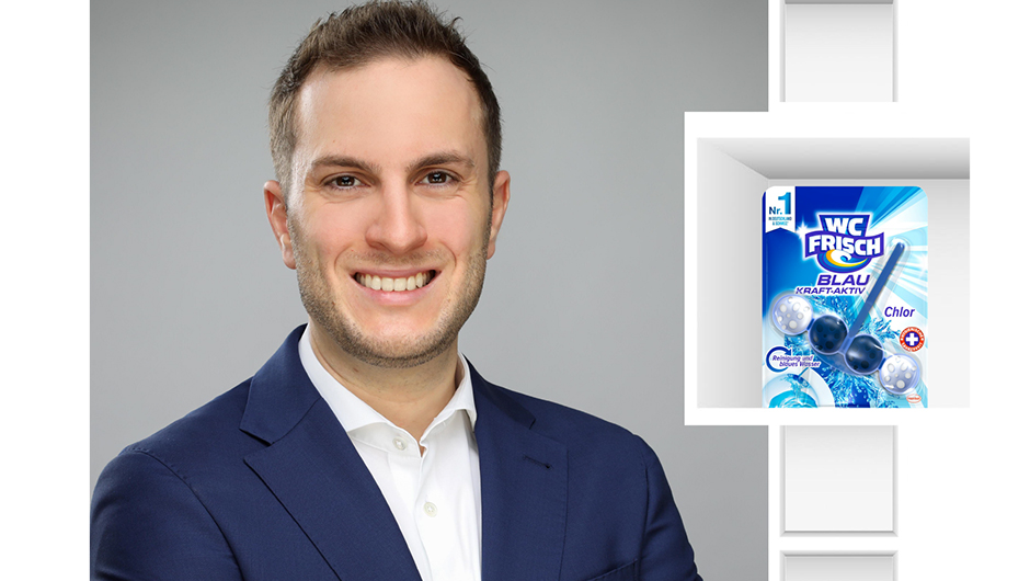 Henkel AG & Co. KGaA, Düsseldorf: Dominik Heinz, Senior Brand Manager Hard Surface Cleaners & Toilet Care.