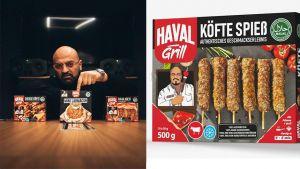 """Gangster-Rapper Xatar hat Anfang Januar seine eigene 'Haval Grill Food Collection' herausgebracht. Per Instagram sucht er selbstbewusst nach einem Vertriebspartner: """"Lebensmitteleinzelhandel-Vertriebe, die Power haben, können uns gerne eine E-Mail schreiben mit Referenzen und ihrer Vertriebsstruktur. Der beste Vertrieb wird Partner."""""""