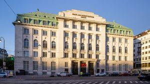 Für ihren 76. Standort hat sich die österreichische Interspar eine ganz besondere Handelsimmobilie ausgesucht -  den historischen Prachtbau des Wiener Bankvereins mitten im ersten Bezirk der Hauptstadt.