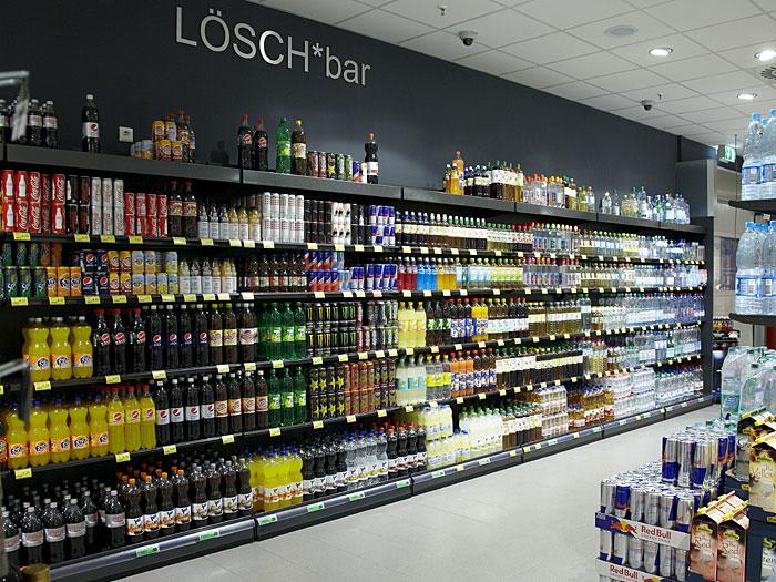 Store Check Rewe-Markt in Dortmund