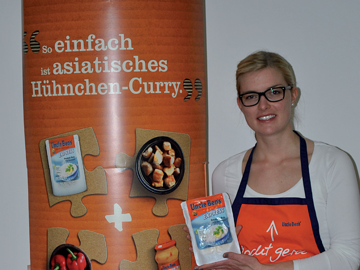 Anne Buchholz, Brand Managerin Food, für Uncle Ben's Express bei Mars in Verden.