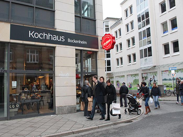 Kochhaus frankfurt for Aroma frankfurt
