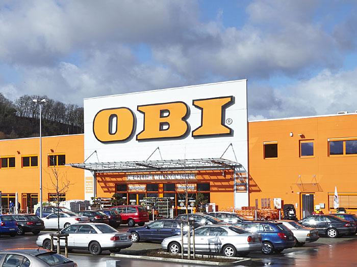 store check obi in g ppingen. Black Bedroom Furniture Sets. Home Design Ideas