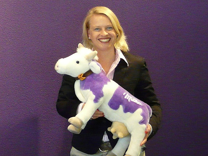 Merle Meier-Holsten, Marketing Managerin, für Milka Tablets bei Mondelez in Bremen.