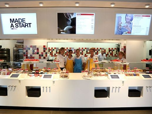 Gastro-Angebote: Edeka und Rewe erproben neue Konzepte
