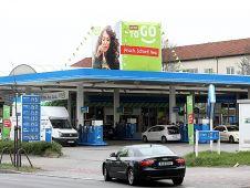 Seit April testet Rewe sein To-Go-Konzept zusätzlich an zehn Aral-Tankstellen - wie hier in Düsseldorf. Glückt die Allianz mit Aral, könnte das die Shopexpansion erheblich beschleunigen. Foto: Georg Lukas