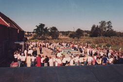 August 1990: Eröffnung des ersten Aldi-Marktes