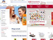 Der dm-Onlineshop ist seit dem 14. Juli freigeschaltet. Konkurrent Rossmann verkauft seine Produkte bereits seit 1999 übers Netz. Während bei Rossmann Produkte und Preise im Fokus stehen, bietet dm seinen Kunden in den einzelnen Shopkategorien passende Verbrauchertipps.