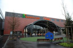Im eigenen Einkaufszentrum Shoppyland in Schönbühl zeigt die Migros ihr neues Supermarkt-Konzept.