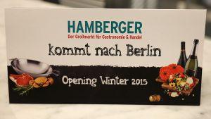 Am Stammsitz München genießt Hamberger einen guten Ruf. Nun hat der Großhändler den Sprung nach Berlin gewagt.