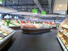 Auswahl und Qualität bei Obst und Gemüse müssen im modernen Vollsortimenter überzeugen.