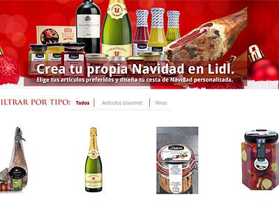 online shop lidl geht in spanien mit deluxe ins web. Black Bedroom Furniture Sets. Home Design Ideas