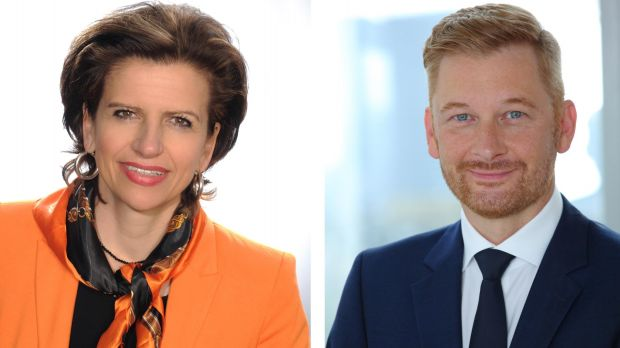Kooperationspartner: Sabine Hagmann vom Handelsverband BW und Peter Esser, dfv-Mediengruppe.