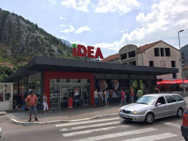 Agrokor only recently rebranded Roda stores in Montenegro and Serbia to its Idea banner.