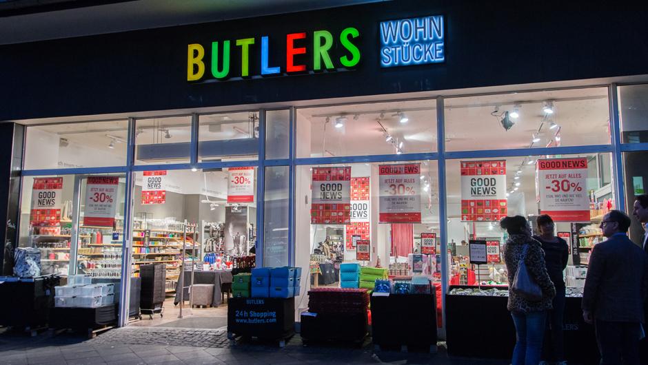 Wohndeko h ndler butlers meldet insolvenz an for Butlers gmbh co kg