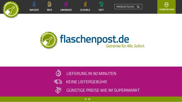 Start-up: Flaschenpost hat neue Investoren