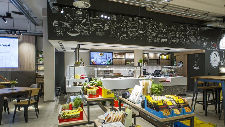 Kochstudio  Neues Kochstudio: Maggi macht sich frisch