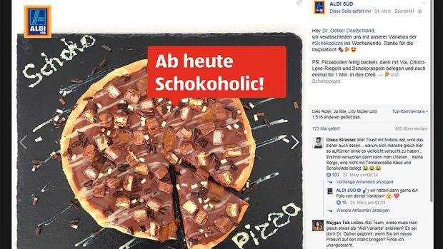 Dr Oetker Schoko Pizza Reizt Bahlsen Ritter Sport Und Co