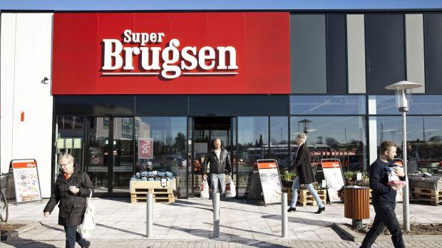 A Superbrugsen supermarket
