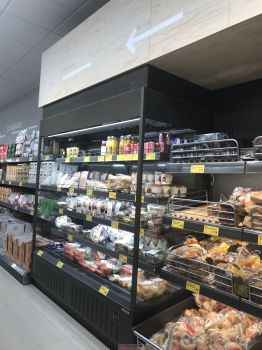 Aldi has added chiller cabinets for convenience goods to its latest store concept.