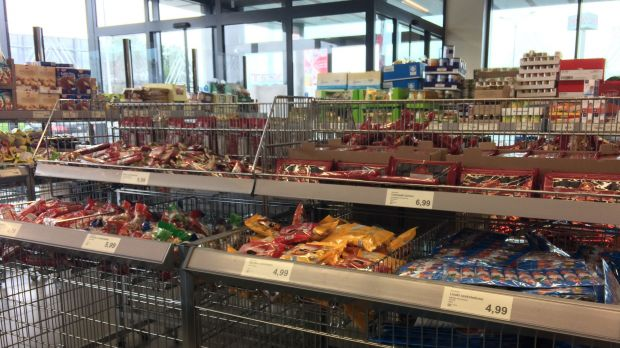 Aldi Christmas Placement in Poland