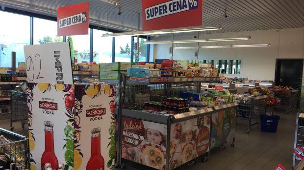 Aldi Super Cena in-store promotion