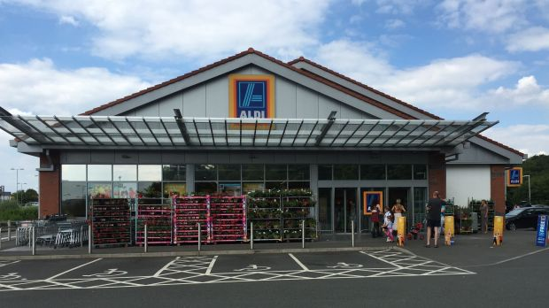 Expansion project: By 2022, German Aldi and its compatriot Lidl will have favoured the UK with more than 2,000 of these little discount huts.