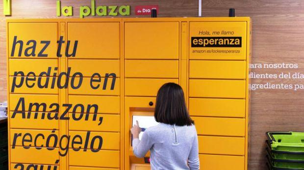 Paketboxen Dia Bringt Amazon Locker Nach Madrid