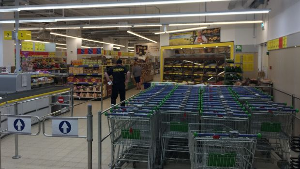 The store's layout is reminiscent of Western European counterparts Aldi and Lidl.
