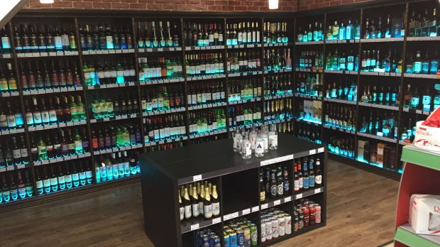 The shop-in-shop alcohol department makes an upscale impression. Vodka plays only a minor role with wine dominating the range. This part of the store reflects Metro Cash & Carry's strategy to promote its wine ranges and redefine the price entry level to RUB 300 (above EUR 4).