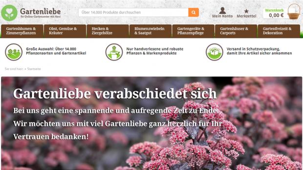Gartenshop Rewe Legt Weiteres Online Projekt Still