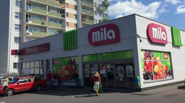 Mila proximity supermarkets were created in 2015 as a spin-off from Polish Polomarket.