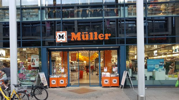 Müller operated 763 stores in Europe in 2016.