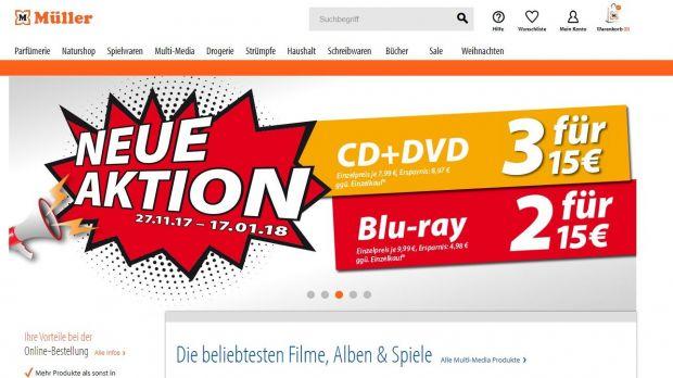 Müller online shop