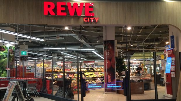 City centre concept: Rewe City and Rewe To Go are smaller store formats that suit the demands of inner-city locations.