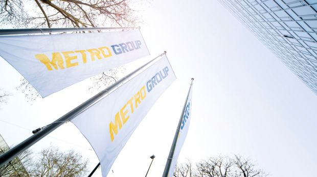 The flags at Metro Group's headquarter are soon to be replaced.